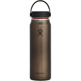 Hydro Flask Wide Mouth Trail Lightweight Drinkfles met Flex Cap 946ml, obsidian